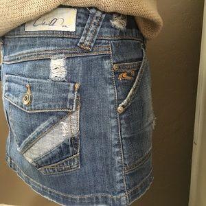 O'Neill Skirts - O'Neill Denim Mini Skirt